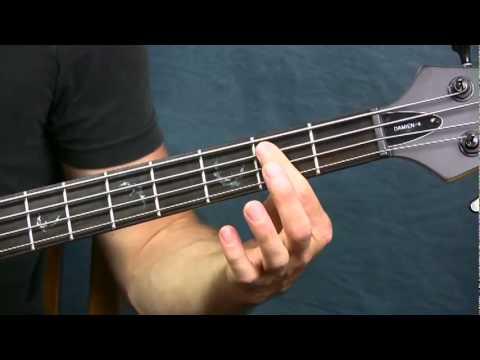 Online Bass Guitar Lesson Money Pink Floyd video