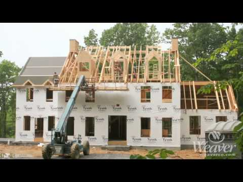 Time lapse of home constructed start to finish
