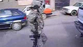 Combat Dancing In Baghdad, Iraq