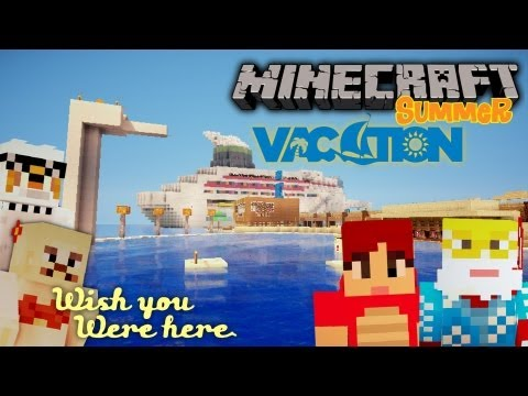 Minecraft AWESOME Summer Vacation