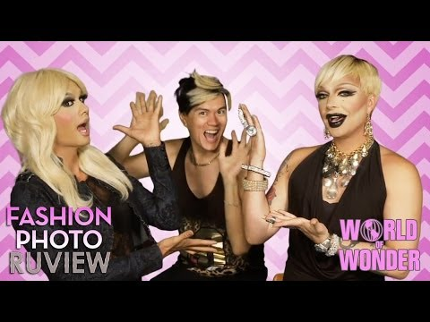 RuPaul's Drag Race Fashion Photo RuView with Raja & Raven feat Manila Luzon - Social Media Ep 10