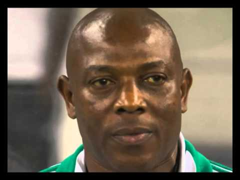 Nigerian coach Stephen Keshi emasculates the South African squad