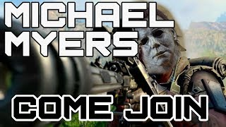 Michael Myers Lobby! | Come Join! | Call of Duty: Black Ops 4