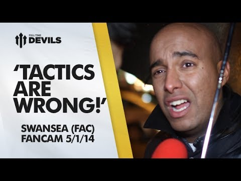 'Tactics Are Wrong!' | Manchester United 1-2 Swansea City - FA Cup | FANCAM