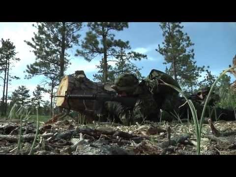 Hjemmeværnet På øvelse Golden Coyote 2013