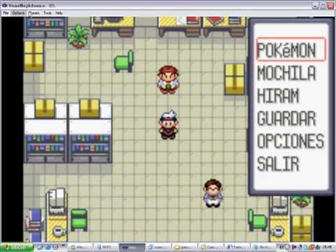 tutorial de como activar gameshark en pokemon rubi y zafiro