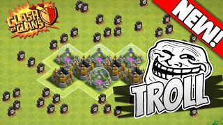 Clash Of Clans - TH7 TROLL BASE BEST TOWN HALL 7 Defense 2015