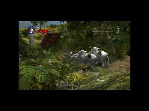 Let's Play Lego Indiana Jones - The Temple of Doom - Level 2 - Pankot Secrets 1 of 3