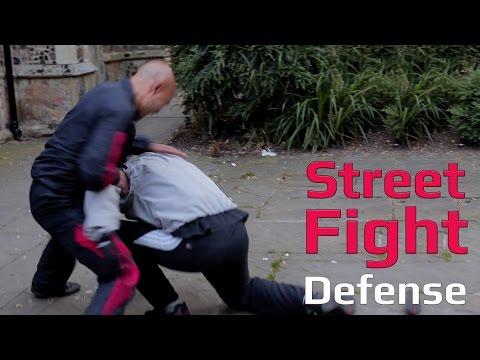 wing chun street fight-prevent grabbling back break