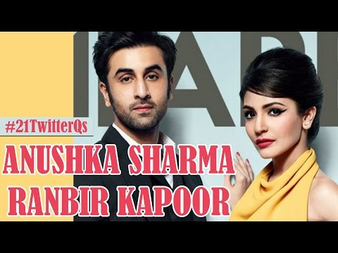 Ranbir Kapoor and Anushka Sharma Answer YOUR 21 Twitter Questions!