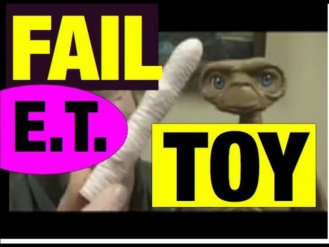 Funny Videos: E.T. Fail Toys lol Review Video by Mike Mozart @JeepersMedia on YouTube