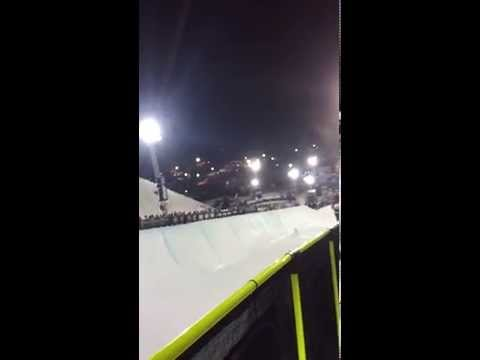 Shaun White - WINTER X-GAMES 2015 - Half Pipe Semi-Finals