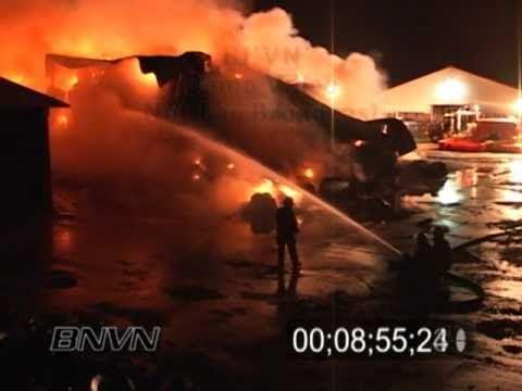7/24/2006 Barn Burner - B-Roll of a Farm on fire in Dakota County, MN