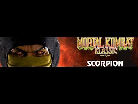 Mortal Kombat Klassic Scorpion 1:3 scale Pop Culture Shock - a slight rant