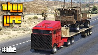 GTA 5 ONLINE : THUG LIFE AND FUNNY MOMENTS (WINS, STUNTS AND FAILS #102)