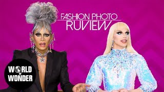FASHION PHOTO RUVIEW: Drag Race Season 11 Episode 2 with Raja and Aquaria!