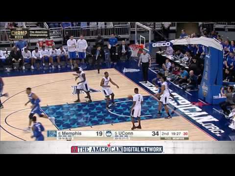 MBB Championship Final Highlights - UConn 72,  Memphis 58