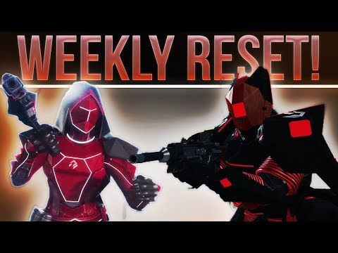 DESTINY WEEKLY RESET! (Nightfall, Heroics, PvP, Weekly Story, Artifacts, Vendors Rolls & More!)