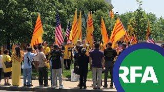 Biểu tình cho Nhân quyền Việt Nam tại Washington D.C.