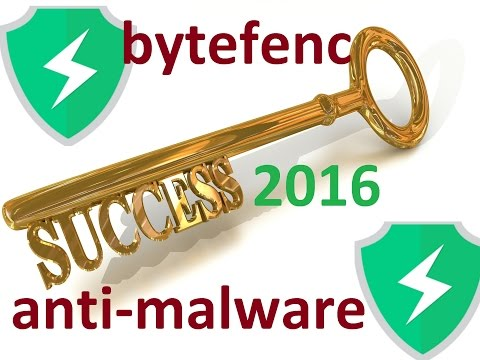 ByteFence Anti-Malware 2.5.0.0 installation + License Key ...