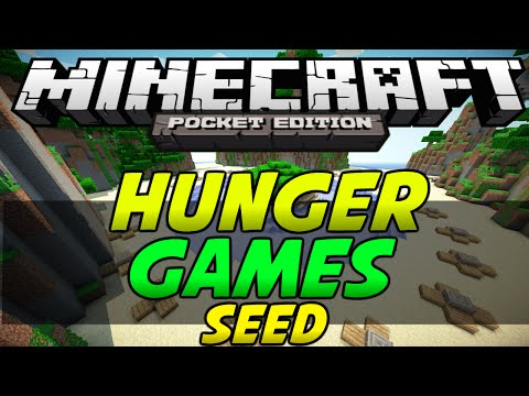 Minecraft PE [0.10.4] - Hunger Games Seed!