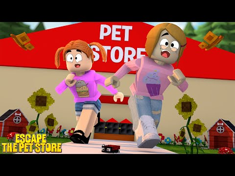 Roblox Escape The Pet Store With Molly!