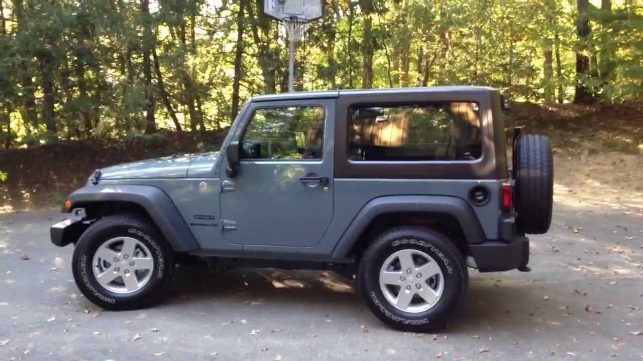 2014 Jeep Wrangler Sport Review Youtube