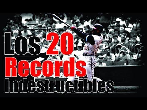 Los 20 Records Indestructibles del Béisbol en Grandes Ligas MLB