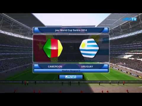 Mundial De Futbol Serbia 2014 Grupo G Camerun vs Uruguay