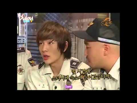 SHINee Onew went to SNSDs dorm plus YongSeo moment!!! (eng sub...
