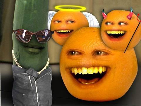 Annoying Orange - Cruel as a Cucumber