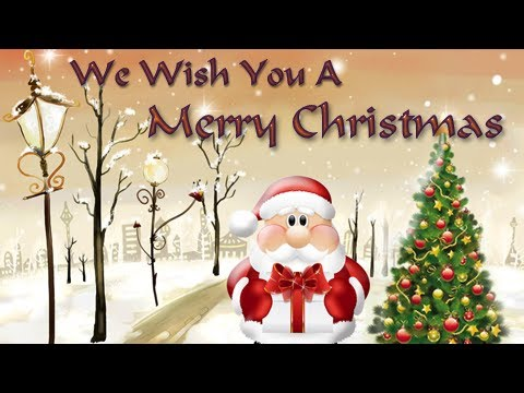 We Wish You A Merry Christmas - Christmas Carols - Popular Christmas...