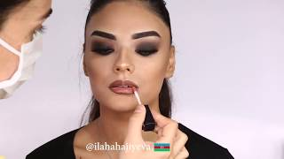 Smoky eyes Make up from  Ilaha Hajiyeva