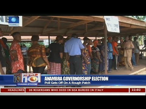 Issues Arising From The Conduct Of Anambra Election 18/11/17 Pt.1 |News@10|
