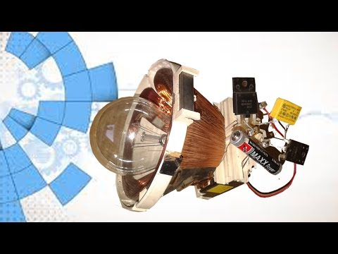 Free Energy 220v Light Bulb New TRICK using TV Yock thumbnail