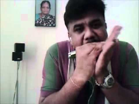 Mere sapno ki Rani Kab- Film : Aradhana - By Natraj on HarmonicaMouthorgan...