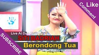 SITI BADRIAH Berondong Tua Live At Duo Pedang 27 05 2015 Courtesy GLOBAL TV