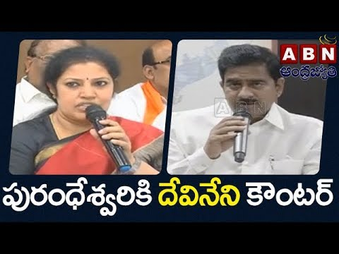 Minister Devineni Uma counter to purandeshwari over Polavaram Project funds