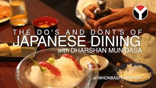 How To Eat Sushi, With Dharshan Munidasa