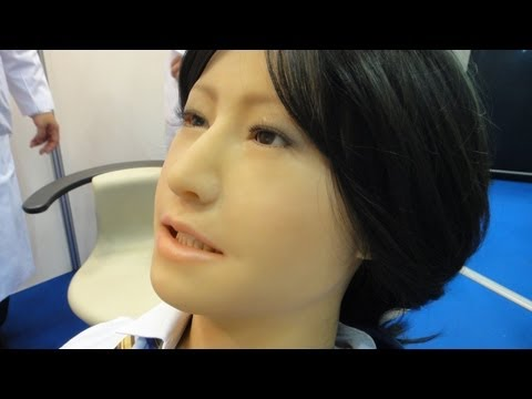 Simroid dental training humanoid robot communicates with trainee dentists #DigInfo