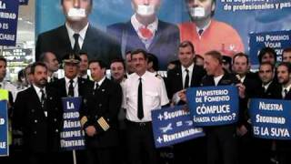 Spanish Pilots committed to Air Safety