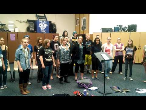 Into My Life - MIddle Park High School Concert Choir - Granby, Colorado