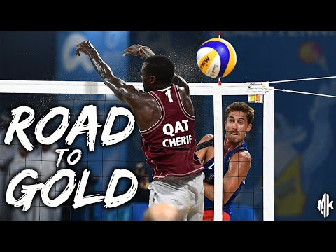 Road to Gold & the Carrot Dangle | 4-Man Beach Volleyball Champs