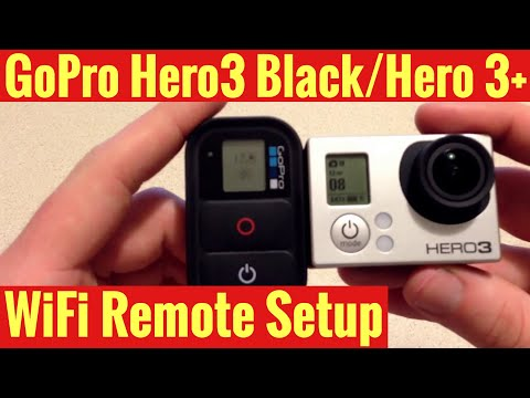 How To Connect Your GoPro WiFi Remote to your Hero3 Black/Hero3+
