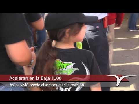 Aceleran en la Baja 1000