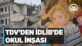 TDV'den İdlib'de okul inşası