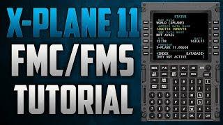 X-Plane 11 - Flight Management Computer