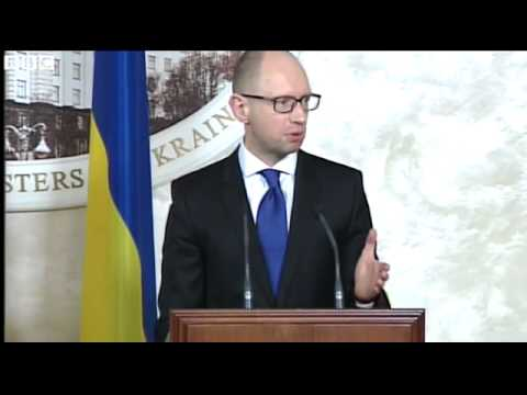 BBC News   Crystal clear that Russian army is in Ukraine, says PM Yatsenyuk