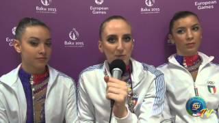 Baku 2015 - Le interviste: Marta Pagnini