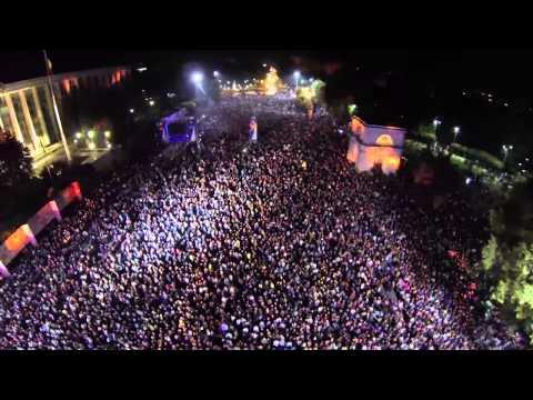 Усатый, Михайлов и Fly Project - Кишинев, 120 тыс зрителей. Полная версия